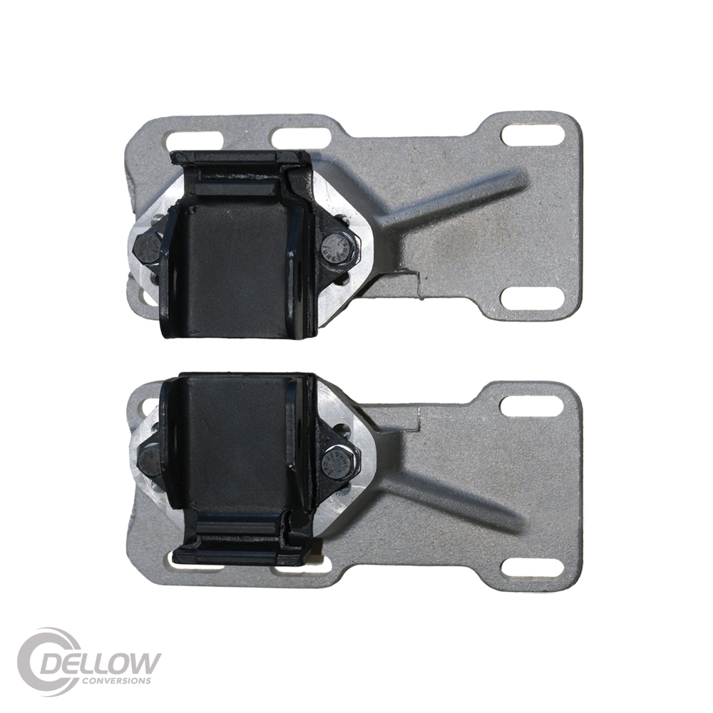 Chev LS 1-2-3 Adjustable Engine Mount Brackets & Rubbers
